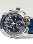 Graf Zeppelin Two-Eye Quartz Chronograph Watch with 60-Minute Stopwatch #8670-3