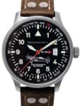 Messerschmitt Fliegeruhr Watch with Aviator Leather Strap #ME-209