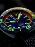 Ocean Crawler 600-Meter Core Swiss Automatic Dive Watch, with Luminous Sapphire Bezel Insert #1292