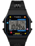 Timex T80 x PAC-MAN 34mm PVD Stainless Steel Bracelet Watch #TW2U32100YB