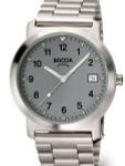Boccia Thin Mens Quartz Watch with 37mm Titanium Case and Titanium Bracelet #3545-02