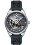 AVI-8 Admiral Blue Steel, 21-Jewel Automatic Pilot Watch, AR Sapphire Crystal #AV-4074-01