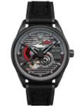 AVI-8 Stealth Black, 21-Jewel Automatic Pilot Watch, AR Sapphire Crystal #AV-4074-03
