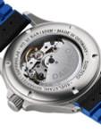 Damasko Swiss Automatic Watch with a 39mm Bead-Blasted Submarine Steel Case #DK32-Ocean