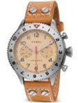 HEMEL 24 Meca-Quartz Chronograph Watch with GMT Bezel and Sapphire Crystal #HF4IV
