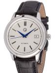 Islander Automatic Dress Watch with Pinstripe White Dial, AR Sapphire Crystal #ISL-32