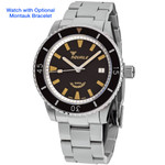Squale Montauk 300 Meter Swiss Made Automatic Dive Watch with Sapphire Crystal #MTK-01