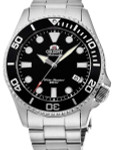 Orient Black Dial Automatic Dive Watch with Sapphire Crystal #RA-AC0K01B10B