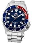 Orient Red-Blue Bezel Insert, Automatic Dive Watch with Sapphire Crystal #RA-AC0K03L10B