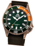 Orient Rose Goldtone Automatic Dive Watch with Sapphire Crystal #RA-AC0K04E10B