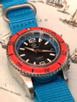 Seaborne Sea Venture 100-Meter Automatic Dive Watch with a 41mm Case and an AR Sapphire Crystal #SB-SV-002-SRB
