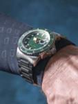 Spinnaker Green Tesei Mille Metri 1000-Meter Swiss Automatic Dive Watch #SP-5090-33