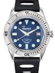 Squale 300 Meter Swiss Made Automatic Dive Watch with Blue Dial  #SUB-39RD