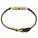 Seiko Classic Thin Quartz Dress Watch with Goldtone Stainless Steel Case #SWR052