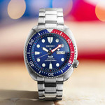 Seiko Special Edition Prospex PADI Automatic Dive Watch with Stainless Steel Bracelet #SRPE99