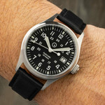 Islander Automatic Field Watch with Nylon Weave Strap and an AR Sapphire Crystal #ISL-41