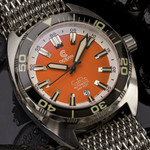 Ocean Crawler Core Diver Swiss Automatic Watch with AR Sapphire Crystal #CD-V3-1322