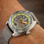 Ocean Crawler Core Diver Swiss Automatic Watch with Meteorite Dial #CD-V3-1324