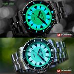 Lum-Tec 43mm Swiss Automatic, Anti-Magnetic 350 meter Dive Watch #350M-4