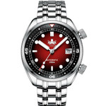 PHOIBOS Eagle Ray 200-Meter Automatic Dive Watch with Double Dome AR Sapphire Crystal #PY029E