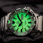 Islander C3 SuperLuminous Dial Automatic Dive Watch with AR Double Dome Sapphire Crystal, and 120-click Bezel #ISL-58