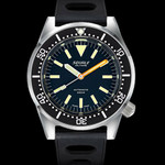 Squale Militaire 500 Meter Swiss Automatic Dive Watch with Blasted Finish Case #1521-026-MIL-B