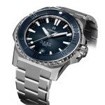 Formex REEF Swiss Automatic Chronometer Dive Watch with Sunburst Blue Dial #2200-1-6333-100