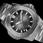 Formex REEF Swiss Automatic Chronometer Dive Watch with Sunburst Grey Dial #2200-1-6341-100
