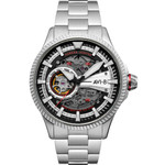 AVI-8 Hawkeye Hunter Diables Rouges, Automatic Pilot Watch, AR Sapphire Crystal #AV-4078-22