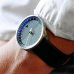 Botta UNO 24 one hand 24-hour Swiss quartz watch with 40mm titanium case #428010