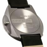Botta UNO 24 one hand 24-hour Swiss quartz watch with 40mm titanium case #429010