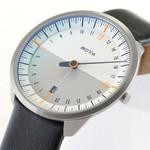 Botta UNO 24 one hand 24-hour Swiss quartz watch with 40mm titanium case #421010