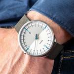 Botta UNO 24 one hand 24-hour Swiss quartz watch with 45mm titanium case #621710