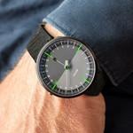 Botta UNO 24 one hand 24-hour Swiss quartz watch with 45mm titanium case #628010
