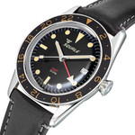 Squale 300 Meter Swiss Automatic GMT-Dive Watch, AR Sapphire Box Crystal #SUB-39GMTV