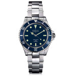 Davosa Ternos Sixties-Style Swiss Automatic Dive Watch with Blue Dial #16152540