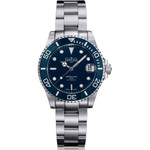 Davosa 36.5mm Medium Ternos Swiss Automatic Dive Watch with Blue Dial #16619540