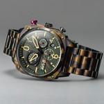 AVI-8 Hawkeye Hunter Ground Camo, Retrograde Chronograph, AR Crystal #AV-4052-22