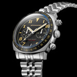 Spinnaker Hull Vintage Black California Dial Chronograph with 42mm Case #SP-5092-11