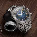 Spinnaker Hull Fumée Blue California Dial Chronograph with 42mm Case #SP-5092-33