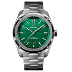 Formex Essence Swiss Automatic Chronometer with Green Dial #0330-1-6300-100