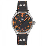 Laco 39mm Neapel Type A Dial Automatic Pilot Watch with Sapphire Crystal #862129