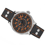 Laco 39mm Palermo Type B Dial Automatic Pilot Watch with Sapphire Crystal #862130