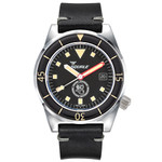 Squale Galeazzi Swiss Automatic 500 Meter Dive Watch with Helium Release Valve #1521-DRAS