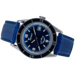Squale 300 Meter Swiss Made Automatic Dive Watch with Blue Dial  #SUB-39BL