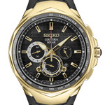 Seiko Coutura Solar Powered Chronograph with Sapphire Crystal #SSC810