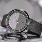 Botta UNO 24 one hand 24-hour Swiss Automatic watch with 45mm PVD titanium case #928010BE