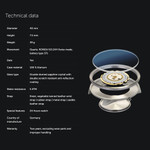 BOTTA TRES 24 Three Hand 24-Hour Swiss Quartz Watch with a 40mm Titanium Case #481910
