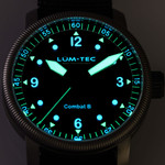 Lum-Tec 43mm Combat Military Watch with Curved Sapphire Crystal #Combat-B50