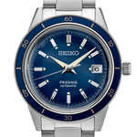 Seiko Presage Automatic Sporty Dress Watch with 41mm Case, and Hardlex Box Crystal #SRPG05